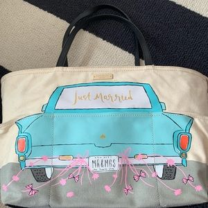 Just Married Kate Spade tote!